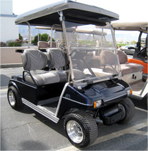 Club Car DS Blue